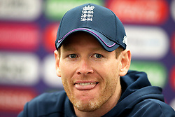 England's Eoin Morgan during a press conference at The Oval, London.
