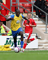 Photo: Mark Stephenson.<br /> Wrexham v Hereford United. Coca Cola League 2. 01/09/2007.Hereford's Toumani Diagouraga