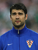 Football - European Championships 2012 - Republic of Ireland v Croatia<br /> Vedran Corluka of Croatia at the Municipal Stadium, Poznan