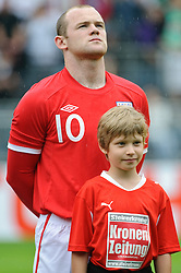 30.05.2010, UPC Arena, Graz, AUT, WM Vorbereitung, Japan vs England, im Bild Wayne Rooney, England, EXPA Pictures © 2010, PhotoCredit: EXPA/ S. Zangrando / SPORTIDA PHOTO AGENCY