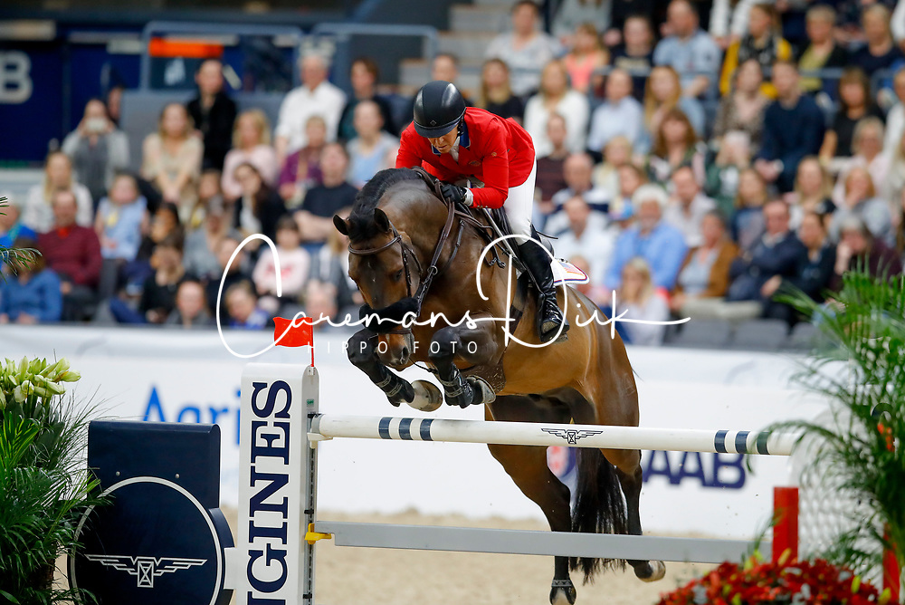 Madden Beezie, USA, Breitling<br /> Final Round 2<br /> Longines FEI World Cup Finals Jumping Gothenburg 2019