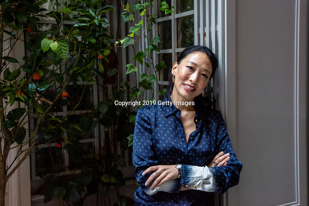 Chef Judy Joo poses for a portrait at Majorelle in the Lowell Hotel in New York City on November 1st, 2019. (Photo by Kris Connor/Getty Images for OK! Magazine)