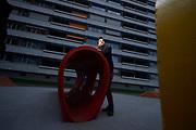 """Aron Nicks Film """"Tscharniblues II"""" eroeffnet das Solothurner Filmfestival. Sein Vater Bernhard Nick hat vor 40 Jahren den ersten Teil """"Dr Tscharniblues"""" mitrealisiert. Aron Nicks Film schaut nun zurück und fragt, was aus den Traeumen seines Vaters geworden ist. © Adrian Moser / Tamedia AG"""