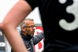 Coach Marco van de Meer in action. First friendly match after the Corona outbreak. VV Maarssen lost the away match against big league Spakenburg 5-1 on 4 July 2020 in Spakenburg.