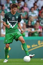 14.08.2010, Wersestadion, Ahlen, GER, Rot Weiss Ahlen vs Werder Bremen 0:4, DFB Pokal 1. Runde,  1. FBL 2010, im Bild Sebastian Prödl / Proedl ( Werder #15 ). EXPA Pictures © 2010, PhotoCredit: EXPA/ nph/  Kurth+++++ ATTENTION - OUT OF GER +++++ / SPORTIDA PHOTO AGENCY