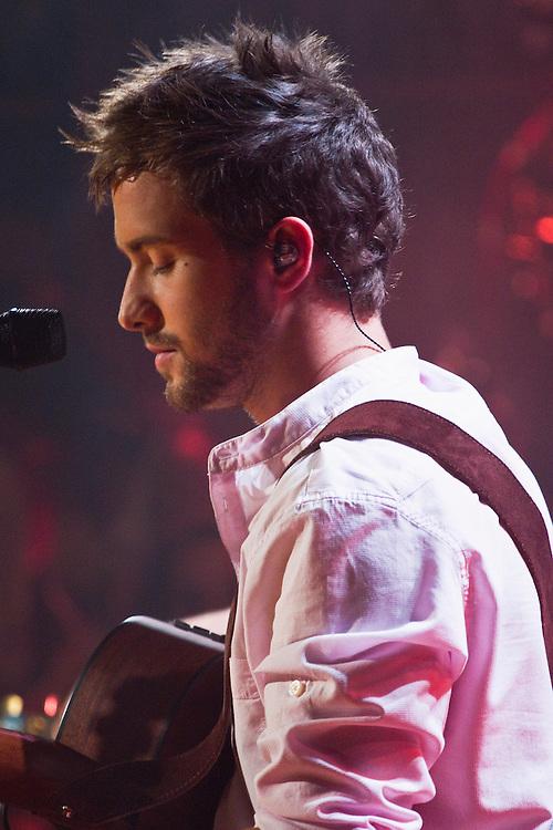 "Spanish idol Pablo Alborán, during the recording of his latest album ""En acústico"" (unplugged), at Ciudad de la Imagen, Madrid on July 6 and 7, 2011."