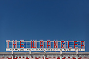 The Wrangler western wear store now owned by Boot Barn July 23, 2015 in Cheyenne, Wyoming. The store opened in 1943 is the largest western wear outfitter in America.