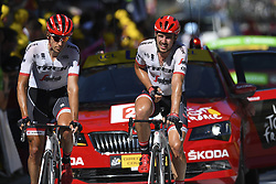 July 4, 2017 - Mondorf Les Bains / Vittel, Luxembourg / France - VITTEL, FRANCE - JULY 4 : DEGENKOLB John (GER) Rider of Trek - Segafredo during stage 4 of the 104th edition of the 2017 Tour de France cycling race, a stage of 207.5 kms between Mondorf-Les-Bains and Vittel on July 04, 2017 in Vittel, France, 4/07/2017 (Credit Image: © Panoramic via ZUMA Press)