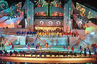 FIESTA NACIONAL DE LA VENDIMIA 2010, ACTO CENTRAL EN EL TEATRO GRIEGO FRANK ROMERO DAY, 6 DE MARZO 2010, CIUDAD DE MENDOZA, PROVINCIA DE MENDOZA, ARGENTINA