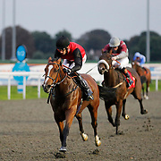 Loraine and George Baker winning the 7.00 race