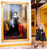 QUEEN MAXIMA  at Het Loo Palace Museum exhibition Ann