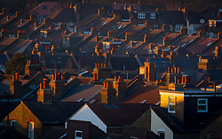 File photo dated 19/1/2016 of residential houses. House price growth in cities in northern England and the Midlands is surging at levels not seen for 12 years, while growth in property values across parts of the South including London has slowed to the weakest rates in five years.