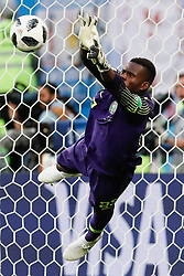 June 26, 2018 - Saint Petersburg, Russia - Francis Uzoho of Nigeria national team in action during the 2018 FIFA World Cup Russia group D match between Nigeria and Argentina on June 26, 2018 at Saint Petersburg Stadium in Saint Petersburg, Russia. (Credit Image: © Mike Kireev/NurPhoto via ZUMA Press)