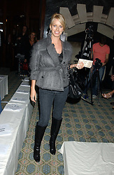 CAROLINE HABIB at Reach 4 Fashion 2005 in aid of the REACH Leukaemia Appeal hosted by designers Sadie Frost and Jemima French of fashion label FrostFrench held at 88 St.James' Street, London SW1 on 8th November 2005.<br /><br />NON EXCLUSIVE - WORLD RIGHTS