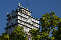 """Daigo Nirvana Osaka Castle Love Hotel - Love hotels cater to romantic rendezvous or tawdry affair and in Japan have evolved over time. Often adopting a """"theme"""" such as the tropics, Hello Kitty motifs, and other unusual and often bizarre concepts, they are a fixture of Japanese society where space is at a premium and privacy, especially that concerned with the family is held sacrosanct."""