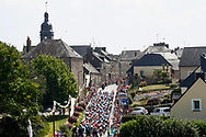 Illustration peloton, Scenery, La Chapelle Janson, during the 105th Tour de France 2018, Stage 7, Fougeres - Chartres (231km) on July 13th, 2018 - Photo Luca Bettini / BettiniPhoto / ProSportsImages / DPPI