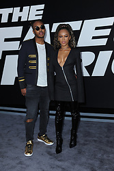 April 8, 2017 - New York, NY, USA - April 8, 2017  New York City..Ohana Bam and Eden Estrella attending 'The Fate Of The Furious' New York premiere at Radio City Music Hall on April 8, 2017 in New York City. (Credit Image: © Kristin Callahan/Ace Pictures via ZUMA Press)