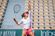 Elise Mertens of Belgium during practice ahead of the Roland-Garros 2021, Grand Slam tennis tournament, Qualifying, on May 28, 2021 at Roland-Garros stadium in Paris, France - Photo Rob Prange / Spain ProSportsImages / DPPI / ProSportsImages / DPPI