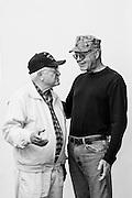 Robert Kelly<br /> Navy<br /> YN3<br /> Yeoman<br /> 1945 - 1948<br /> WWIII<br /> <br /> Jim Kelly<br /> Navy, Marine Corps<br /> E-4<br /> FT<br /> 1968 - 1972<br /> Vietnam<br /> <br /> Veterans Portrait Project<br /> Springfield, MA