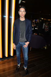 NAT WELLER at the Launch Of Osman Yousefzada's 'The Collective' 4th edition with special guest collaborator Poppy Delevingne held in the Rumpus Room at The Mondrian Hotel, 19 Upper Ground, London SE1 on 24th November 2014, sponsored by Storm models and Beluga vodka.