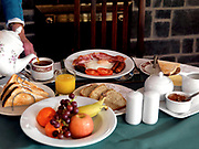 A traditional healthy Irish Breakfast from a B & B in Killarney, Kerry, Ireland.<br /> Picture by Don MacMonagle -macmonagle.com