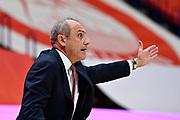 Coach Ettore Messina of Olimpia Milano <br /> A X Armani Exchange Olimpia Milano - Banco di Sardegna Dinamo Sassari <br /> Basket Serie A LBA 2020/2021<br /> Milano 20 December 2020<br /> Foto Mattia Ozbot / Ciamillo-Castoria