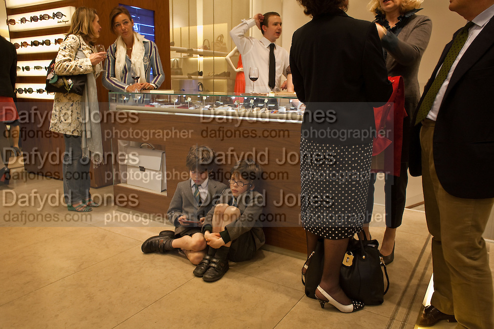 LEON ROLFE; LUKAS ROLFE, BOOK PARTY FOR A BOOK BY DONNA FRANCESCA CENTURIONE SCOTTO AT Salvatore Ferragamo, 24 Old Bond Street, London W1. 14 May 2009