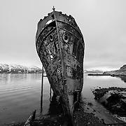 Wreck of the Steamship Sudurland, Djupavik, Westfjords