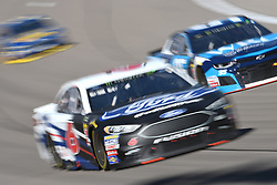 March 4, 2018 - Las Vegas, Nevada, U.S. - LAS VEGAS, NV - MARCH 04: Trevor Bayne (6) Roush Fenway Racing (RFR) Ford Fusion during the Pennzoil 400 Monster Energy NASCAR Cup Series race on March 4, 2018, at Las Vegas Motor Speedway in Las Vegas, NV.   (Photo by Michael Allio/Icon Sportswire) (Credit Image: © Michael Allio/Icon SMI via ZUMA Press)