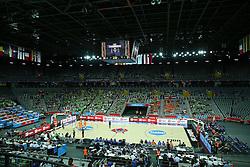 08-09-2015 CRO: FIBA Europe Eurobasket 2015 Slovenie - Nederland, Zagreb<br /> De Nederlandse basketballers hebben de kans om doorgang naar de knockoutfase op het EK basketbal te bereiken laten liggen. In een spannende wedstrijd werd nipt verloren van Slovenië: 81-74 / View on arena. Photo by Matic Klansek Velej / RHF