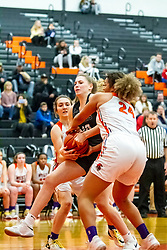 20 February 2020:  Lincoln Way West Warriors v Normal Community West Wildcats for the IHSA Girl's Regional in the gym at Normal Community in Normal IL<br /> <br /> 10