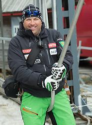 Coach of Slovenia Mitja Kunc after the  1st Run of Men Slalom race of FIS Alpine Ski World Cup 54th Vitranc Cup 2015, on March 15, 2015 in Kranjska Gora, Slovenia. Photo by Vid Ponikvar / Sportida