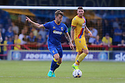 AFC Wimbledon midfielder Jake Reeves (8) during the Pre-Season Friendly match between AFC Wimbledon and Crystal Palace at the Cherry Red Records Stadium, Kingston, England on 27 July 2016. Photo by Stuart Butcher.