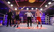 Boxen: Universum Boxpromotion, Fightnight, Hamburg, 24.04.2021<br /> Yusuf Atmis (GER) - Vitalii Maksymyv (UKR)<br /> © Torsten Helmke