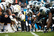 December 11, 2016: Carolina Panthers vs San Diego Chargers.
