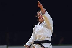 27-05-2006 JUDO: EUROPEES KAMPIOENSCHAP: TAMPERE FINLAND<br /> Barara Harel  (FRA) wint de gouden medaille<br /> ©2006-WWW.FOTOHOOGENDOORN.NL