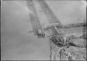 "Ackroyd 08838-14. ""Aerials. Waterways terminal. Crown Zellerbach. Feburary 12, 1959"""