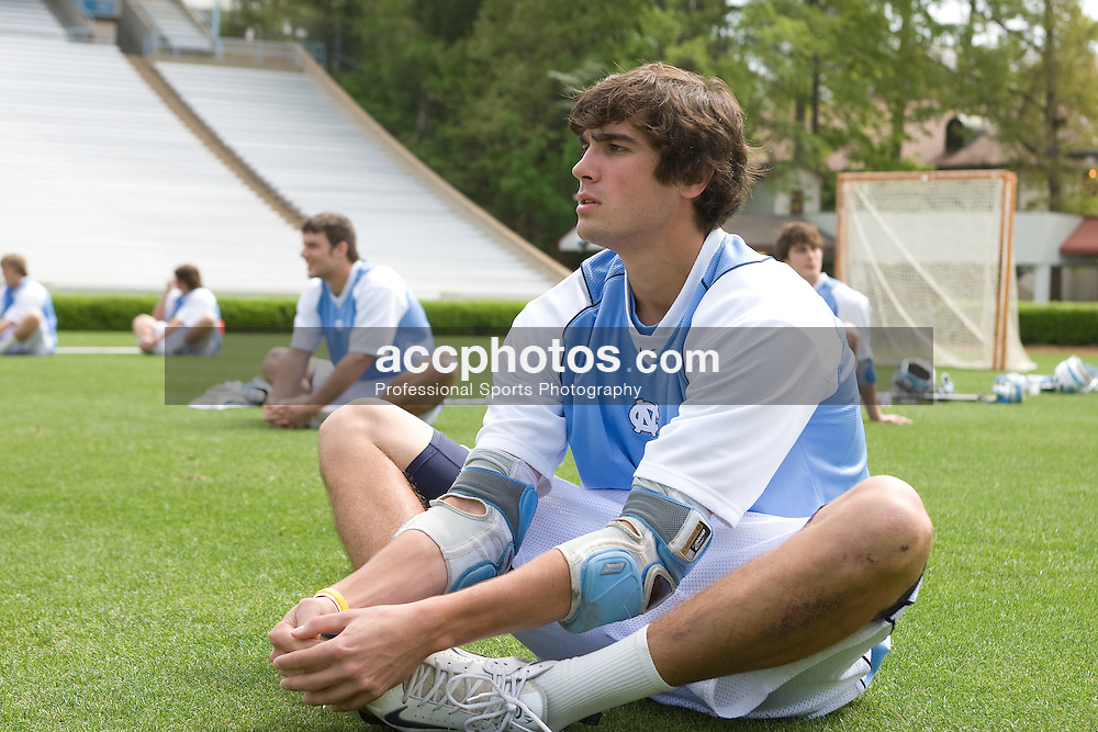 19 April 2008: North Carolina men's lacrosse midfielder Cryder DiPietro (48) before a 13-9 win over the Hofstra Pride at Kenan Stadium in Chapel Hill, NC.