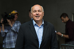 London, June 11th 2017. Former Work and Pensions Secretary Iain Duncan-Smith attends  an interview at the BBC in London, following the general election which saw his Conservative Party lose their majority in the House of Commons.