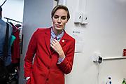 NUE528 - NUEVA YORK(EEUU), 09/9/16.-  Desfile de moda queer DapperQ en el marco del New York Fashion Week, concretamente ubicado en el Brooklyn Museum. Hasta 8 diseñadores y diseñadoras han mostrado sus colecciones en un acto muy reivindicativo a favor de la libertad de género EFE/Edu Bayer