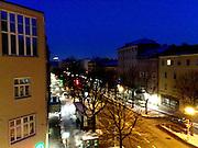 old city Salzburg in Winter