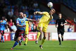 Chris Lines of Bristol Rovers  and Stephen Dawson of Scunthorpe United  - Mandatory by-line: Matt McNulty/JMP - 06/08/2016 - FOOTBALL - Glanford Park - Scunthorpe, England - Scunthorpe United v Bristol Rovers - Sky Bet League One