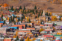 Silverton (in autumn), Colorado USA.