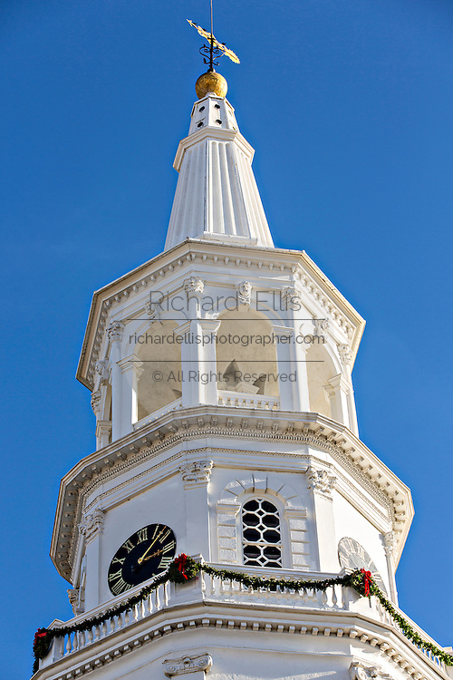 St Michaels Church in Charleston, South Carolina.