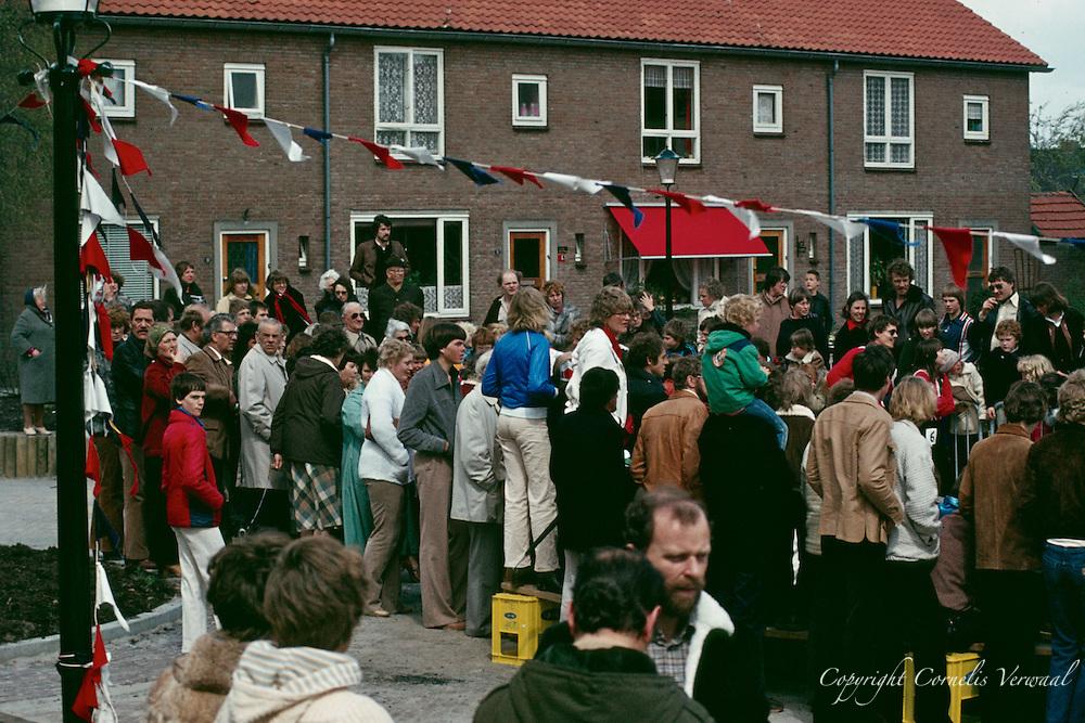 Koninginnedag in Ammerstol 1979