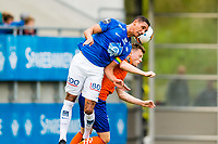 Fotball , 8 Juli , Eliteserien , Aalesund - Molde , Ruben Gabrielsen i duell med Adam Örn Arnarson<br /> <br />  , Foto: Marius Simensen, Digitalsport