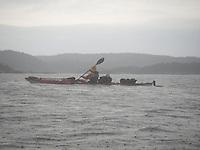 Heavy rain approaching Kragerø