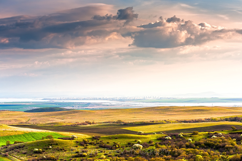 View to Burgas from Bryastivets hills