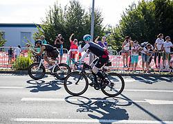 07.07.2019, Klagenfurt, AUT, Ironman Austria, Radfahren, im Bild Radfaher // Cyclist during the bike competition of the Ironman Austria in Klagenfurt, Austria on 2019/07/07. EXPA Pictures © 2019, PhotoCredit: EXPA/ Johann Groder