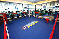 Royal Caribbean International's  Independence of the Seas, the world's largest cruise ship...Boxing ring